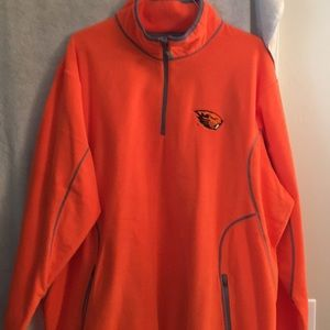 Antigua men's fleece 1/4 zip size XXXL